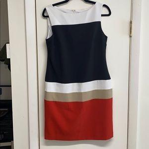 Color block Professional Dress